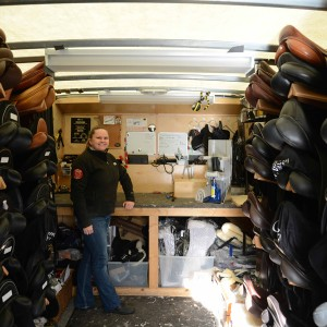 Lesley McGill - The Canadian Saddle Doctor - Accredited Master Saddler